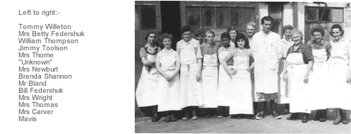 Saundby Cheese Workers