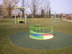 New equipment to the Play Area Village Hall