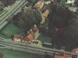 Aerial view of Green and Spinney c1970's