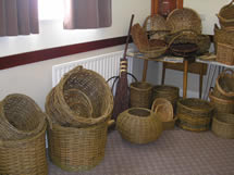 Selection of baskets...