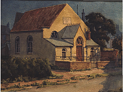 Painting of Primitive Chapel 1935