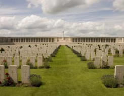 Pozieres Cemetery, France