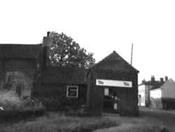Early image of shop on the Green before annex was built